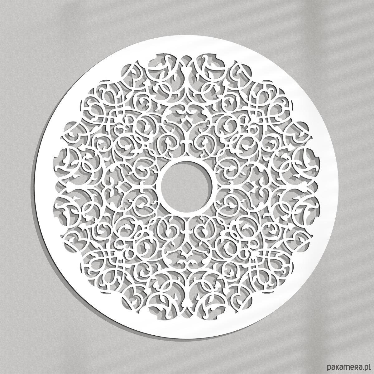 Ażurowa Dekoracja ścienna Arabesque 60 Cm Pakamerapl