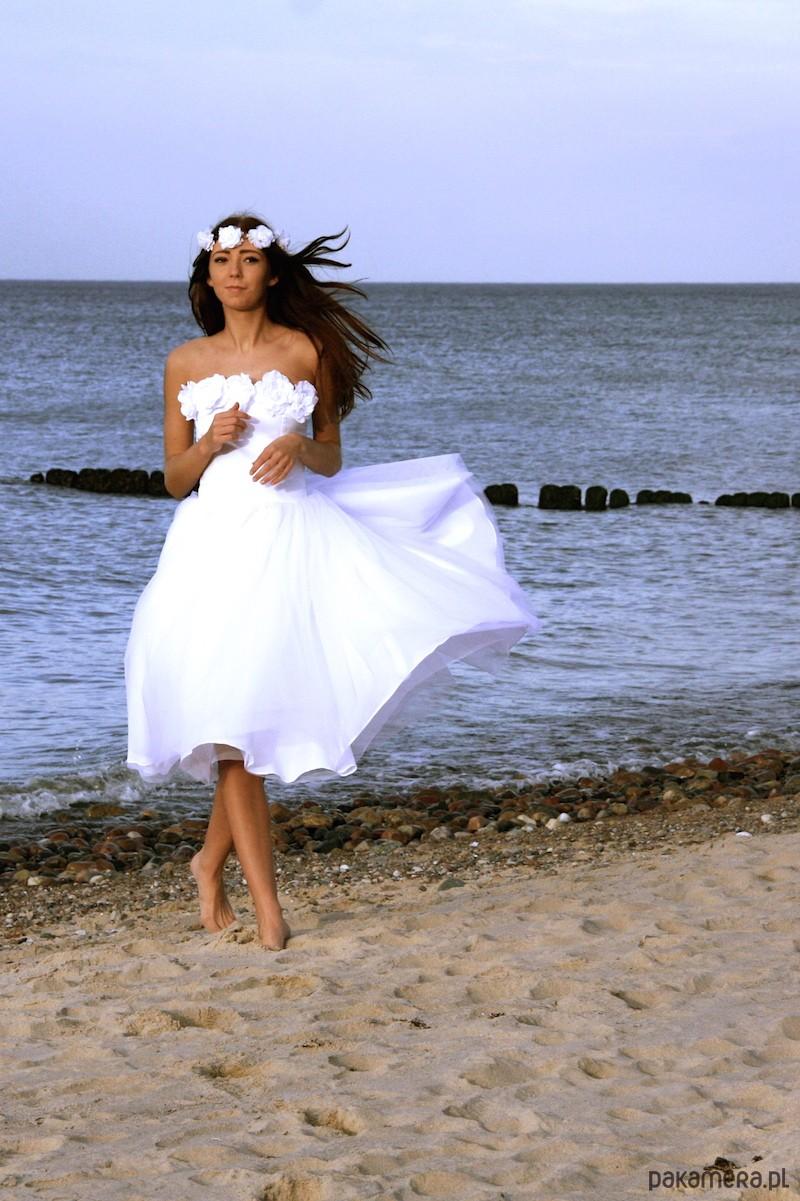 b49043ae94 Suknia Kristen kolekcja Alisa Dark Angel - sukienki - maxi - Pakamera.pl