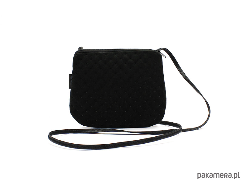 aecc707bf275a elegancka mini torebka mała czarna - torebki mini - Pakamera.pl