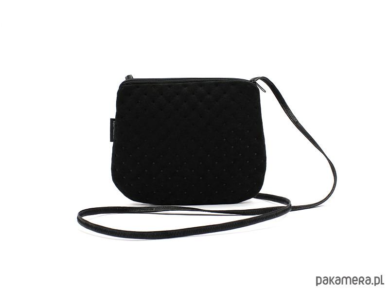 2ae8749ebd4e5 elegancka mini torebka mała czarna - torebki mini - Pakamera.pl