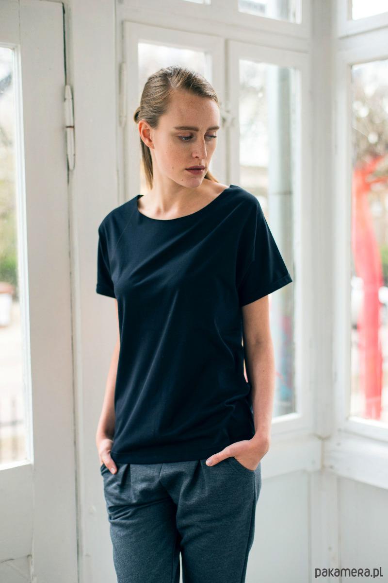 NATURE BLACK Oversize t-shirt