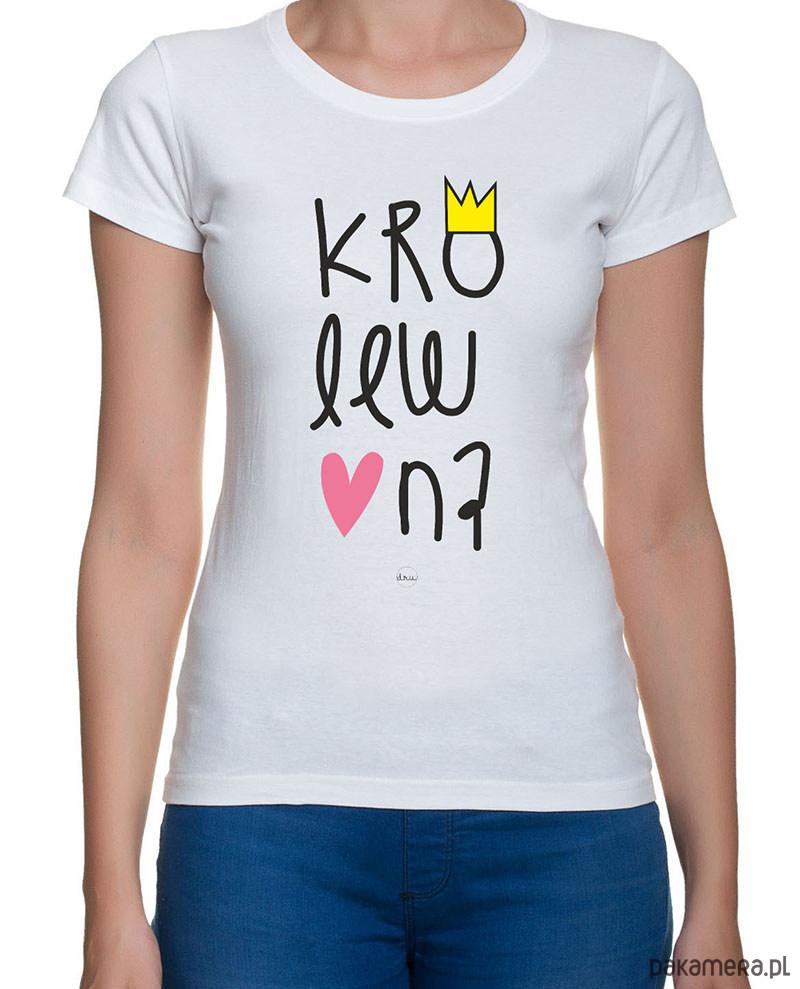 koszulka damska. królewna