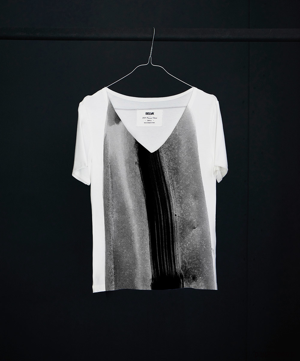 Yali abstract no.5 t-shirt - SELVA