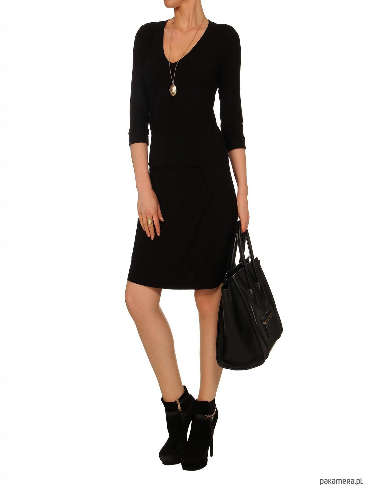 Sukienka czarna YY200032_RAL9005