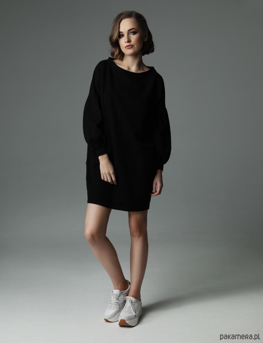 Sukienka Loose Louise - czarna