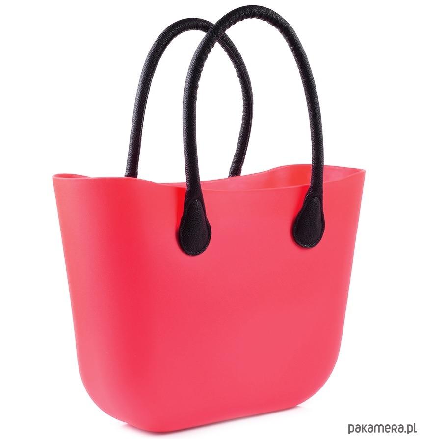 04d6eda5efd00 Damska O BAG TORBA GUMOWA SILIKONOWA duża - torby na ramię - damskie ...