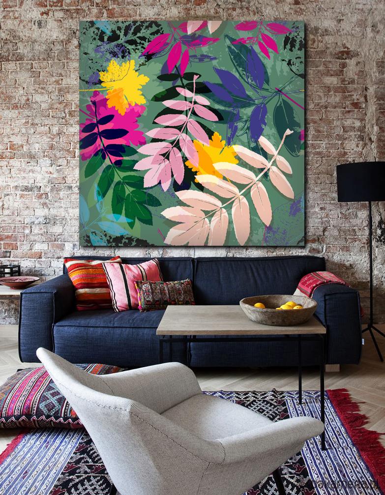 Obraz Z Motywem Roślinnym Pakamerapl