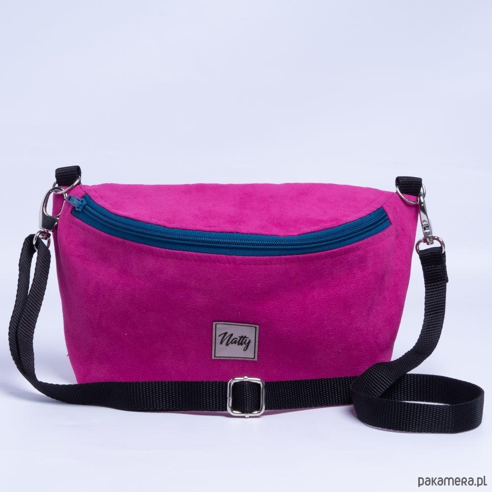 Mini torebka Nerka 2W1 Hot pink
