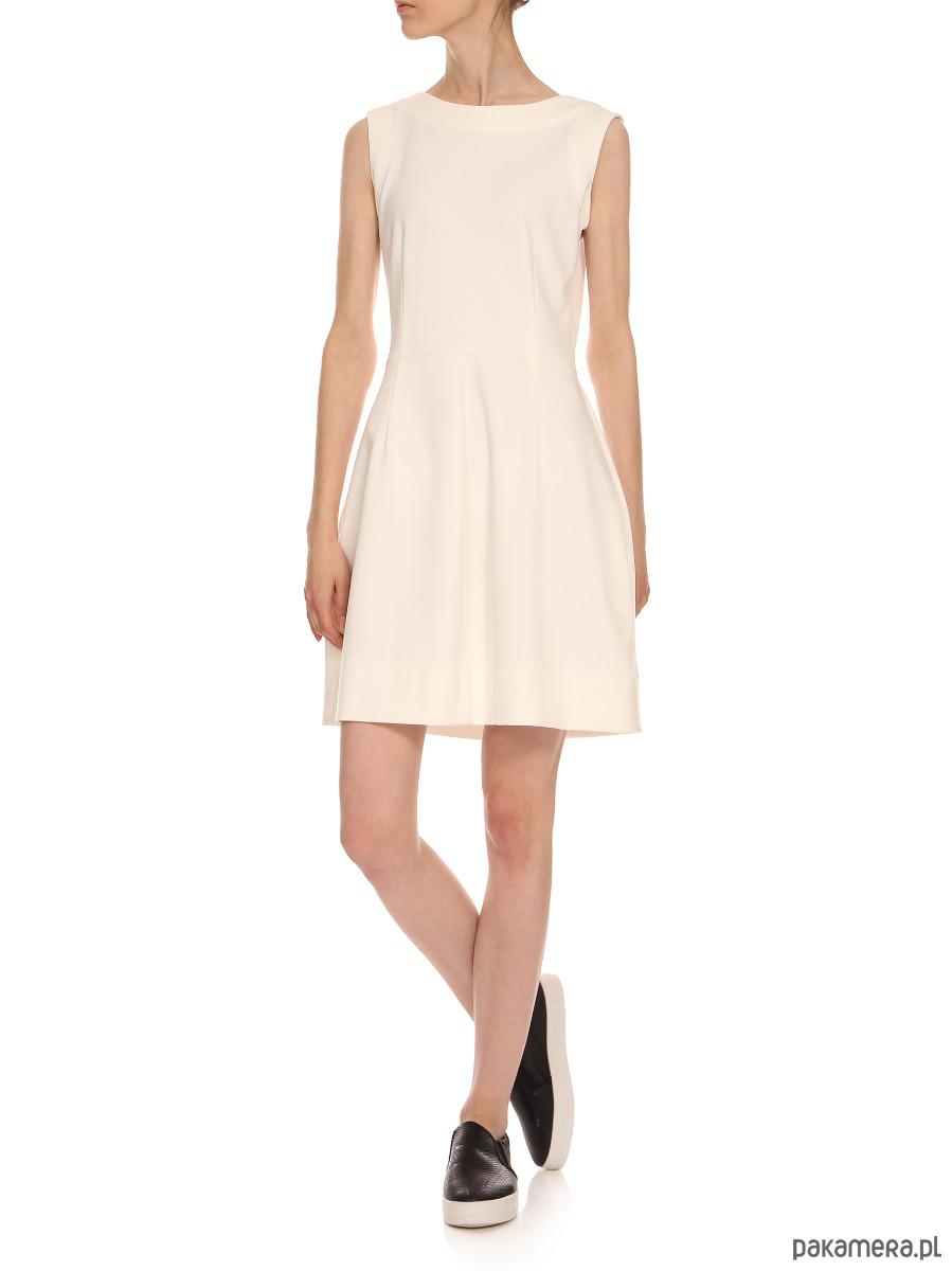 Sukienka ecru YY200070_RAL9001