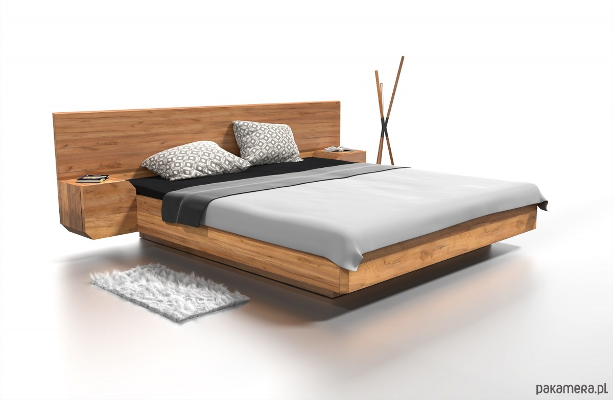 łóżko Drewniane Mutombo Pakamerapl