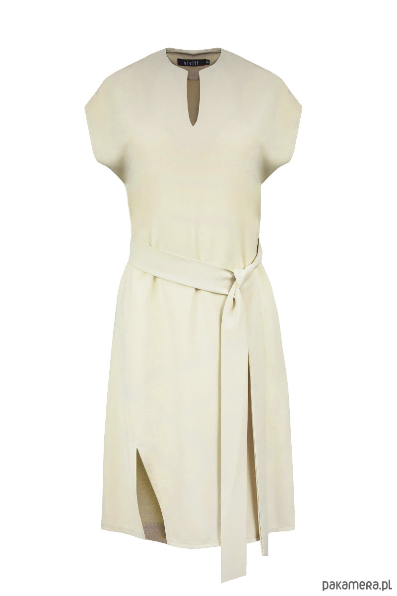 Sukienka Mesa beżowa