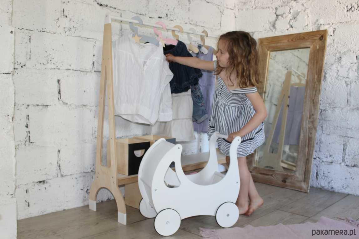 Drewniana Półka Garderoba Dla Dzieci Pakamerapl