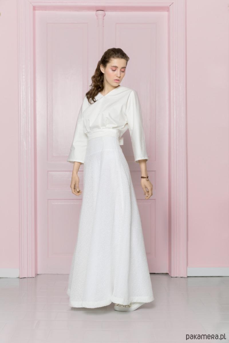 ac9b283c Długa biała spódnica - Pakamera.pl