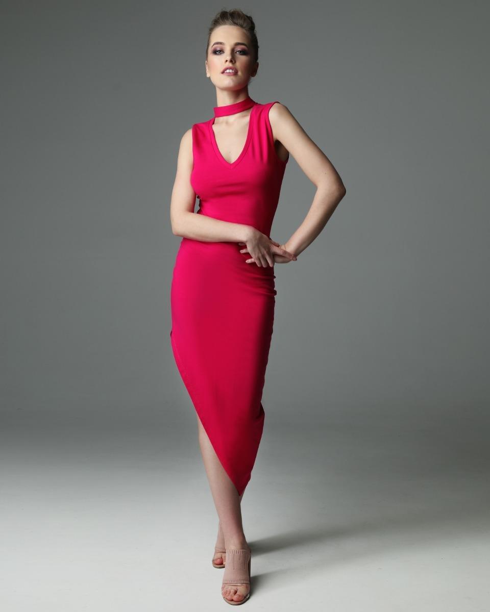Sukienka Flirty Lottie - fuksjowa