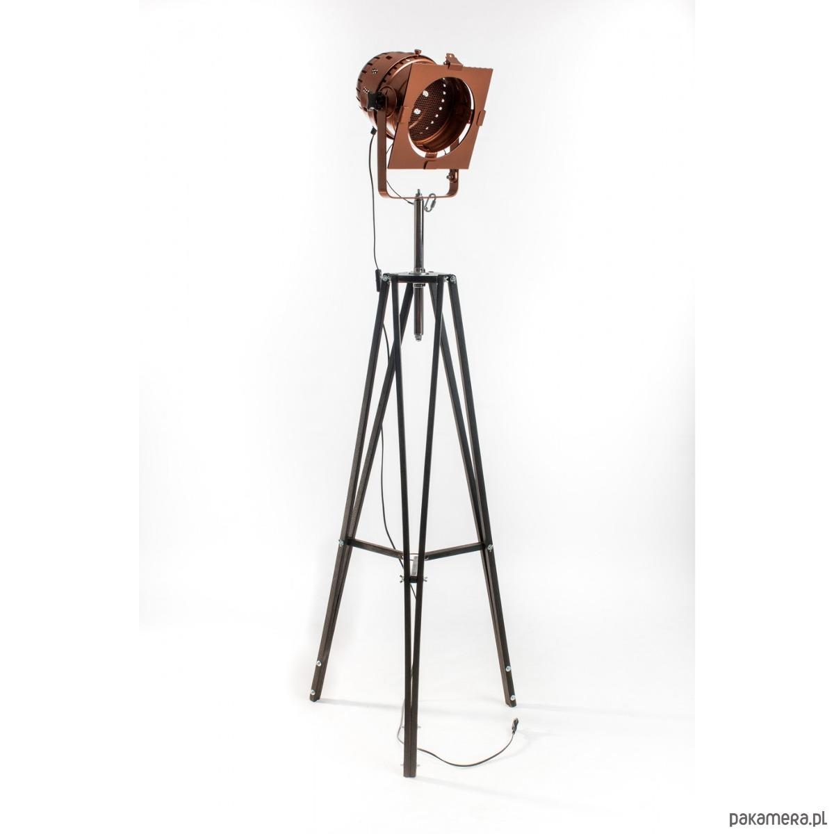 Chłodny Lampa LOFTOWA podłogowa CHIC, industrialna - lampy - podłogowe HL62