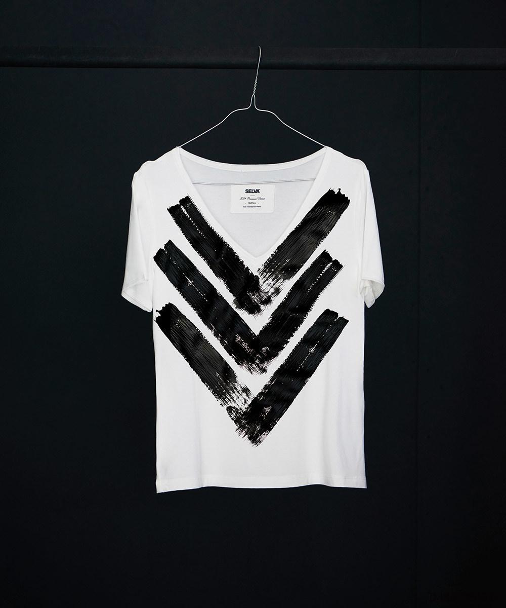 Atayal abstract no.2 t-shirt - SELVA