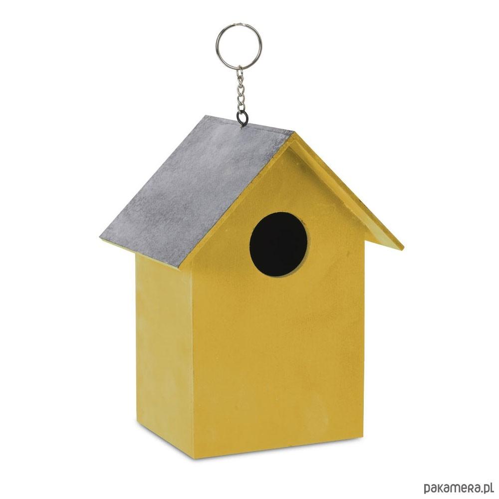 Karmnik Dla Ptaków Dekoracyjny żółty Pakamerapl