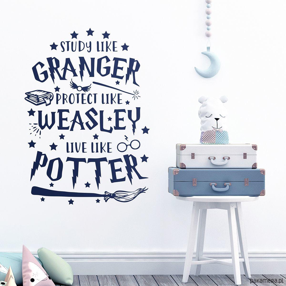 Naklejka Live Like Potter Harry Potter Tapety Naklejki Scienne Pakamera Pl