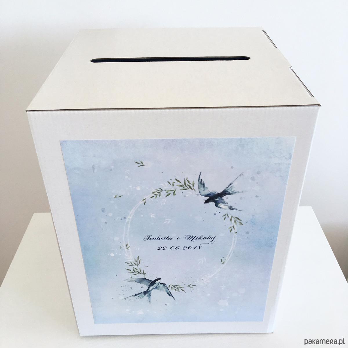 Zaawansowane Pudełko na koperty/prezenty weselne - Ślub - dodatki - Pakamera.pl OF73