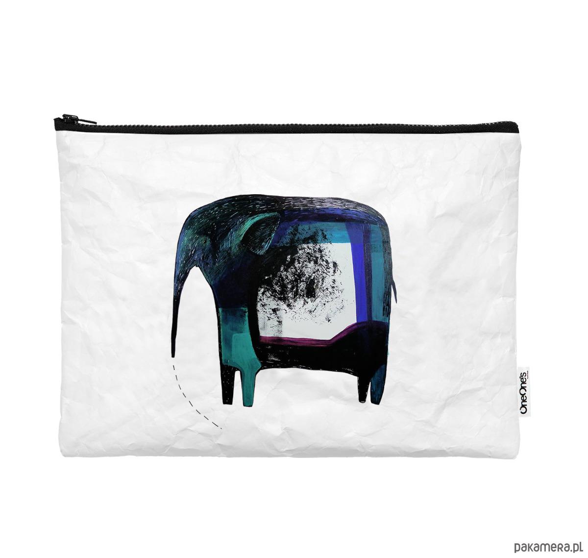 Obraz przedstawiający Pokrowiec ze słonikiem na laptop z Tyveku®