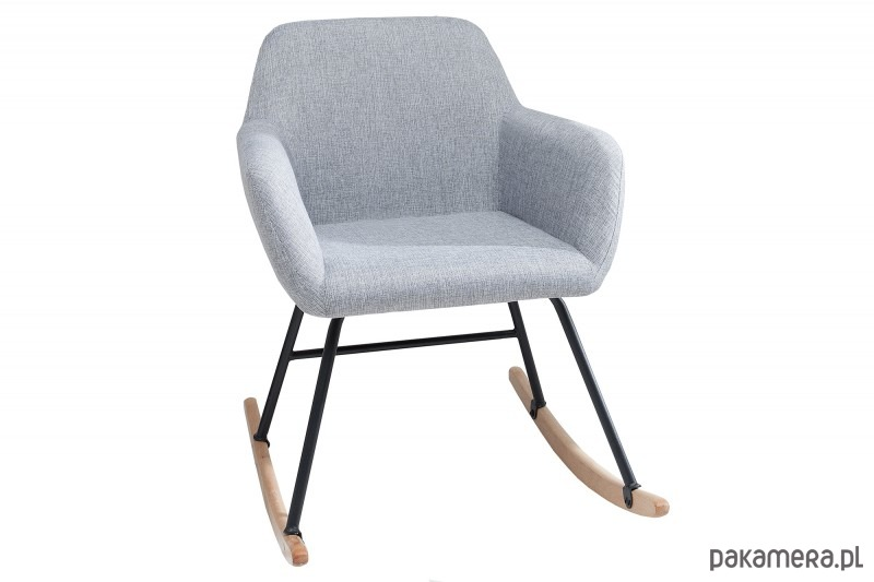 Fotel bujany Igloo jasnoszary buk 79cm - 2037437