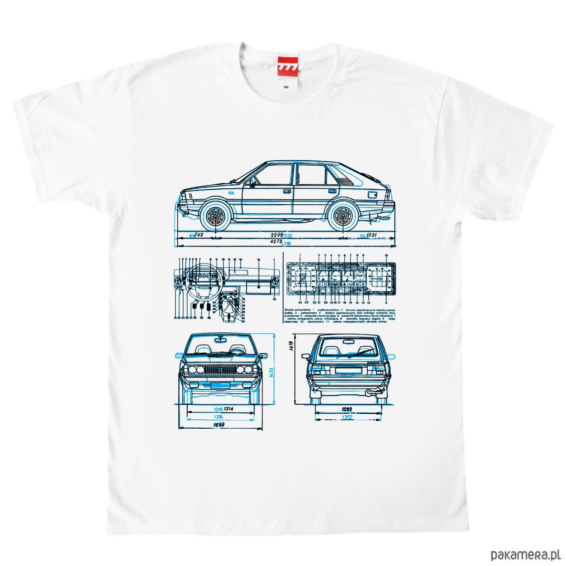 koszulka POLONEZ FSO tshirt