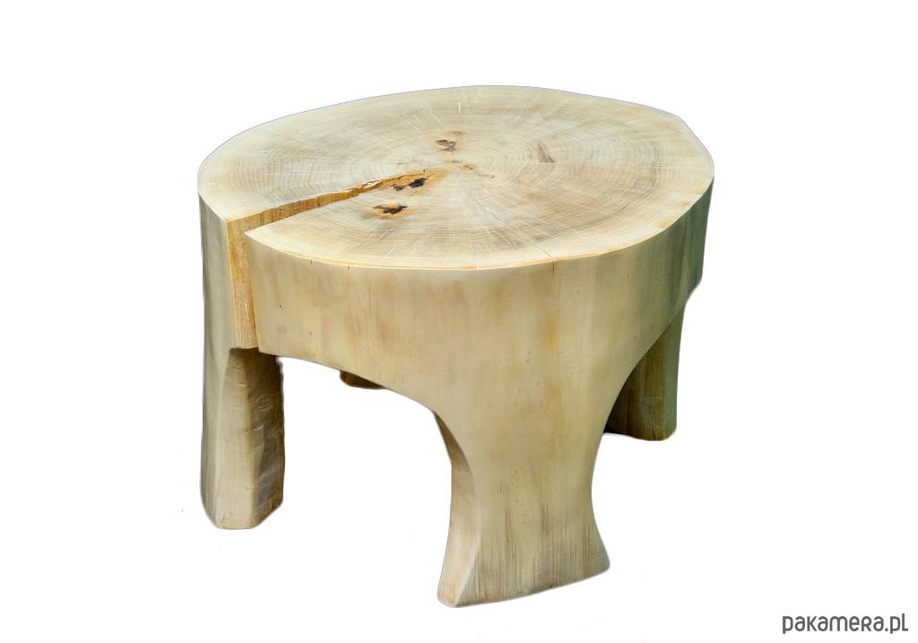 Stolik Kawowy Z Pnia Drzewa Pakamerapl