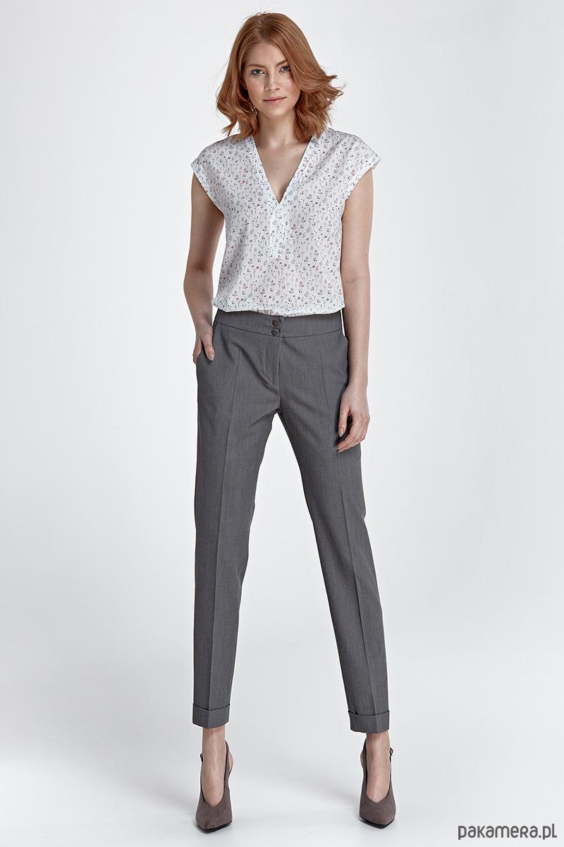 287628f1 Spodnie z mankietami sd27 - szary - Pakamera.pl