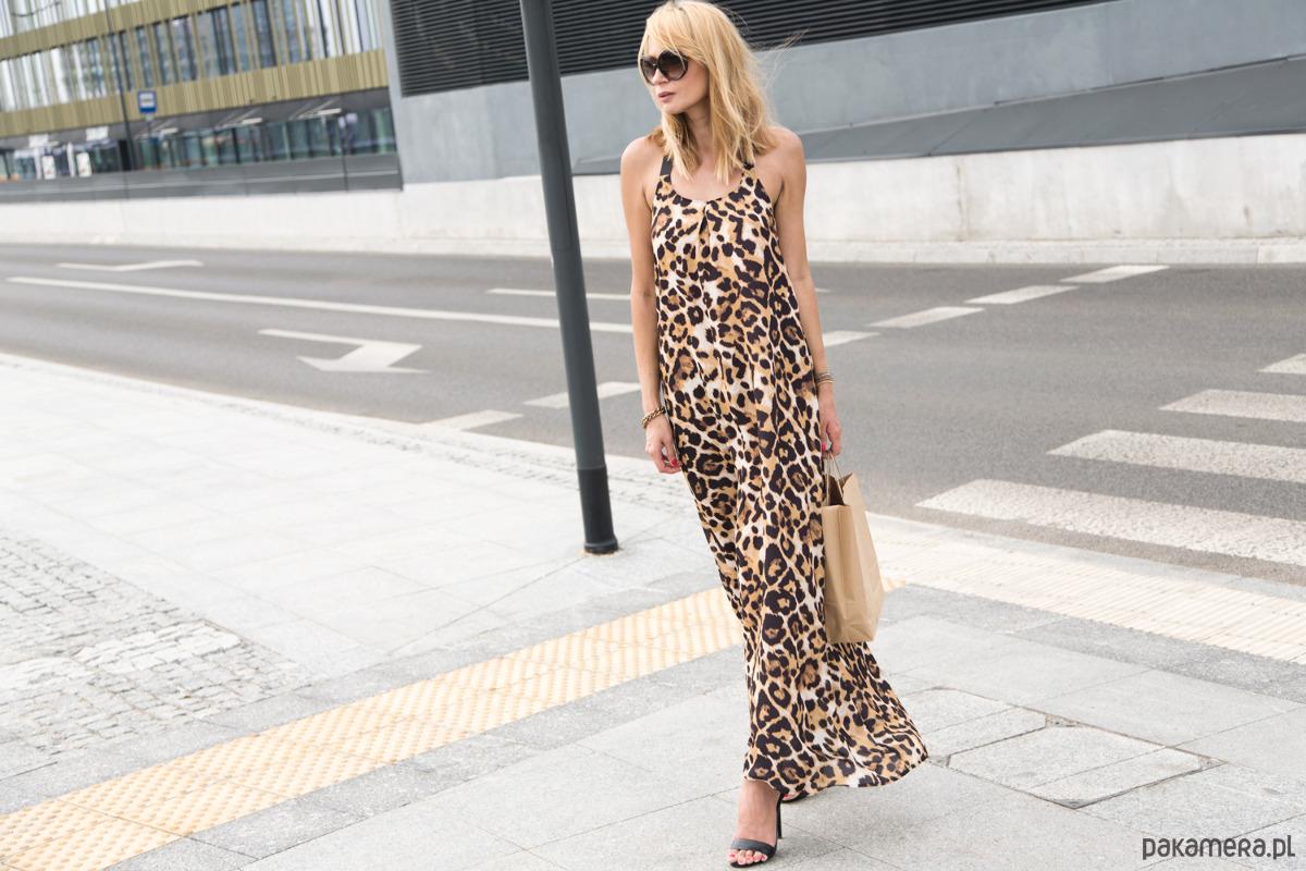 Sukienka Maxi Wild Cat