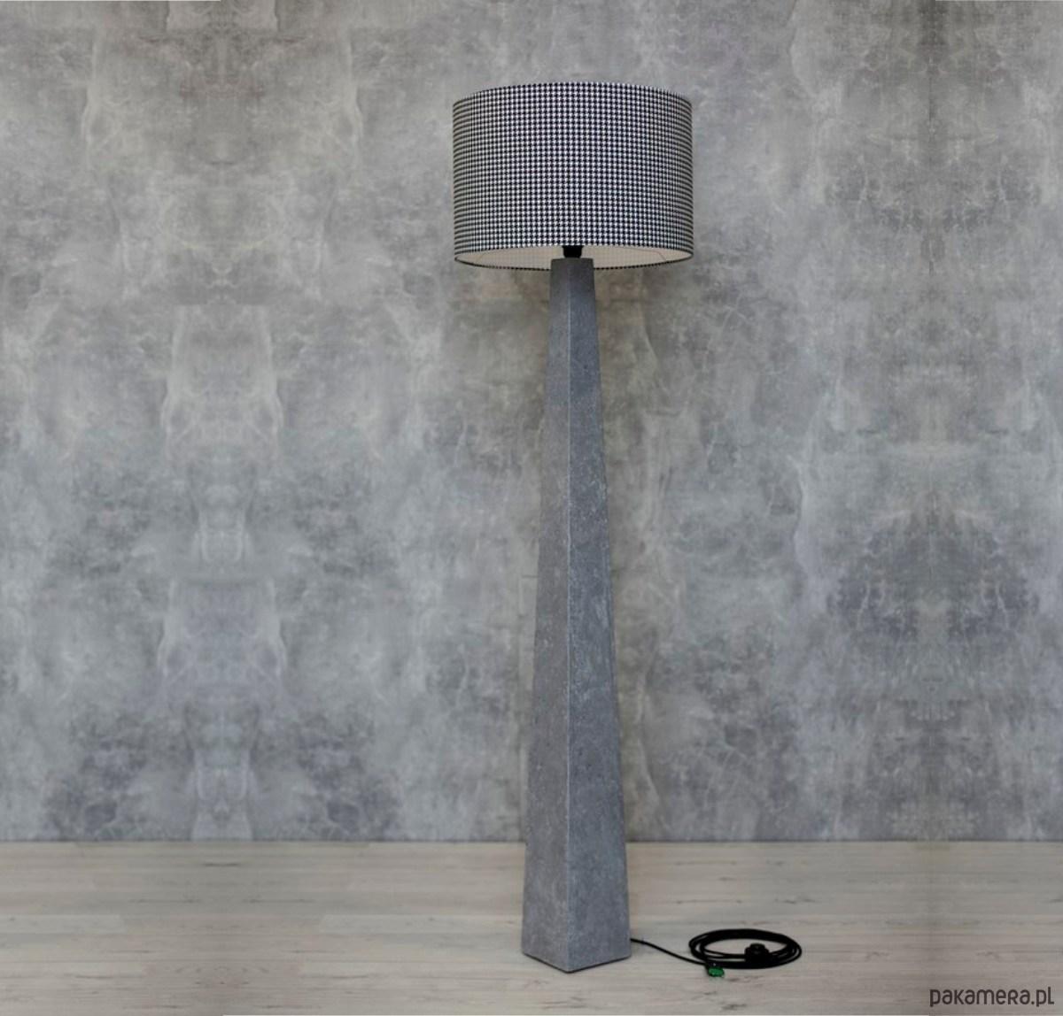 lampy stojące betonowe