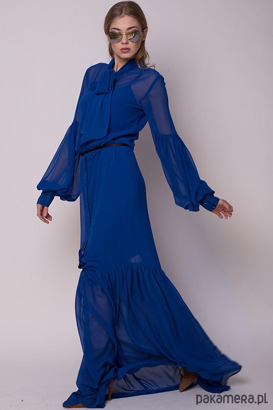 Chabrowa sukienka BOHO
