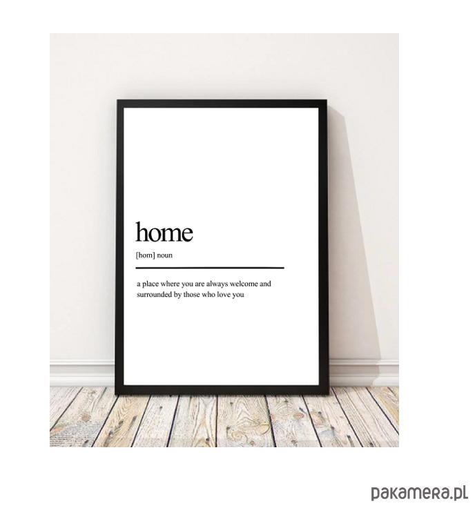 Plakat Home Definicja Dom Pakamerapl