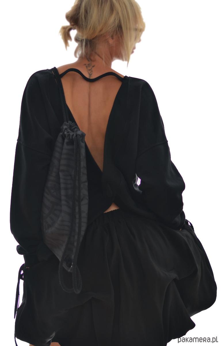 Black Bomb Skirt