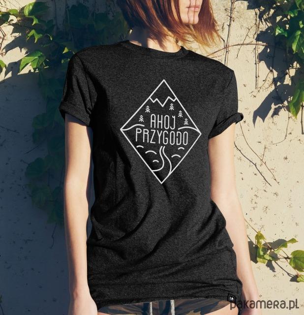 Koszulka damska Szwendam się - AHOJ PRZYGODO