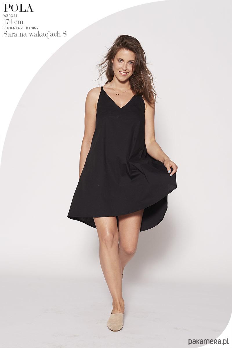 Sukienka Sara na wakacjach black