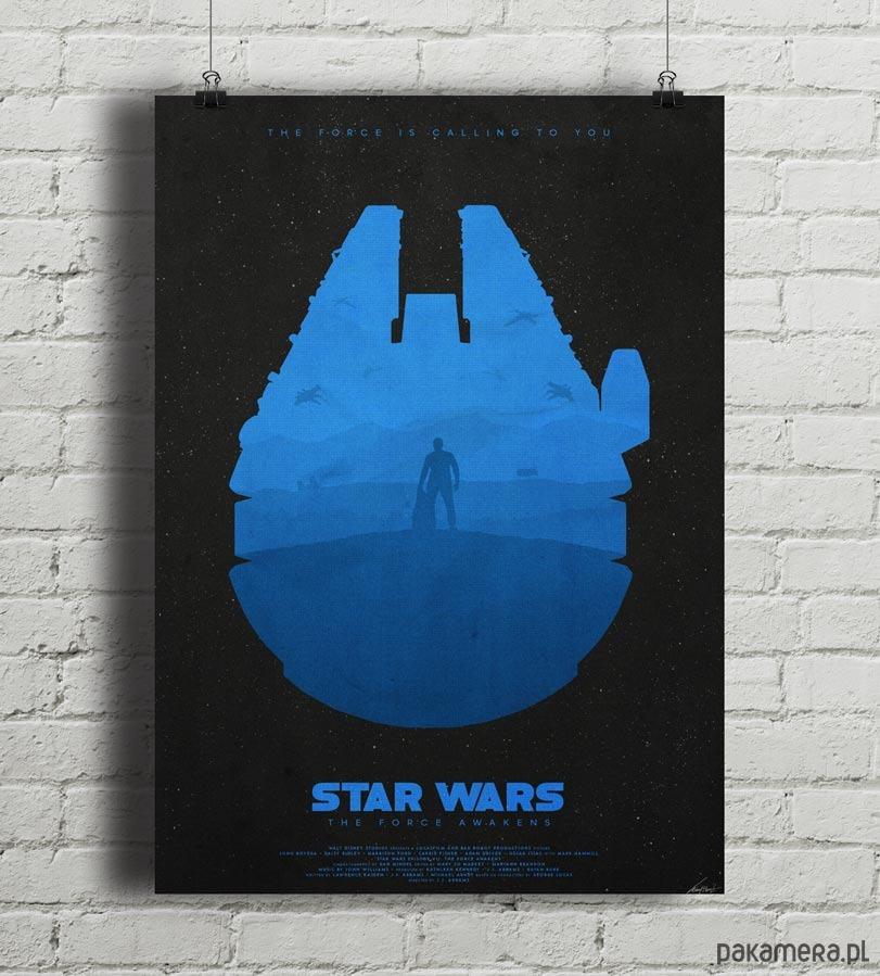 Star Wars - Light - Przebudzenie Mocy plakat - Pakamera.pl