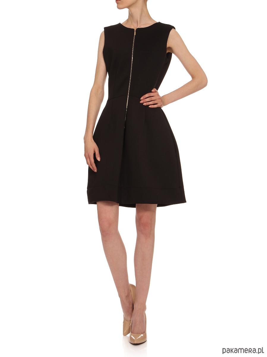 Sukienka czarna YY200056_RAL9005