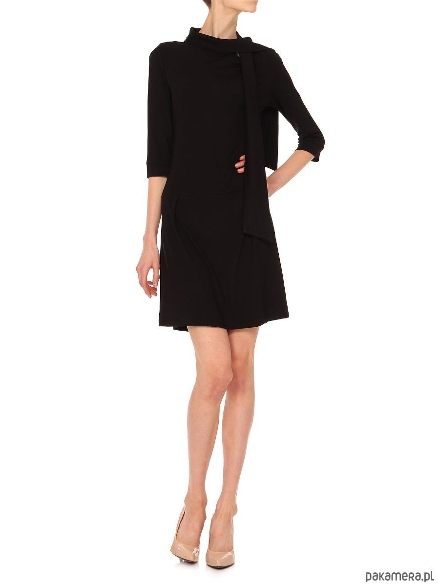 Sukienka czarna YY200105_RAL9005