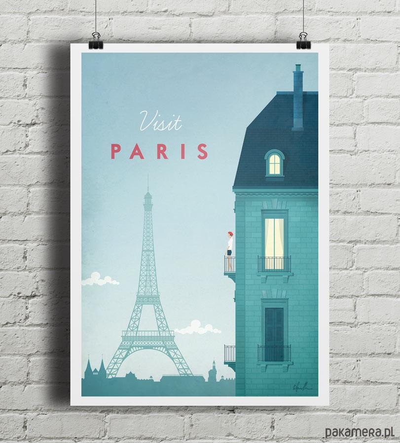 Paryż Vintage Plakat Pakamerapl