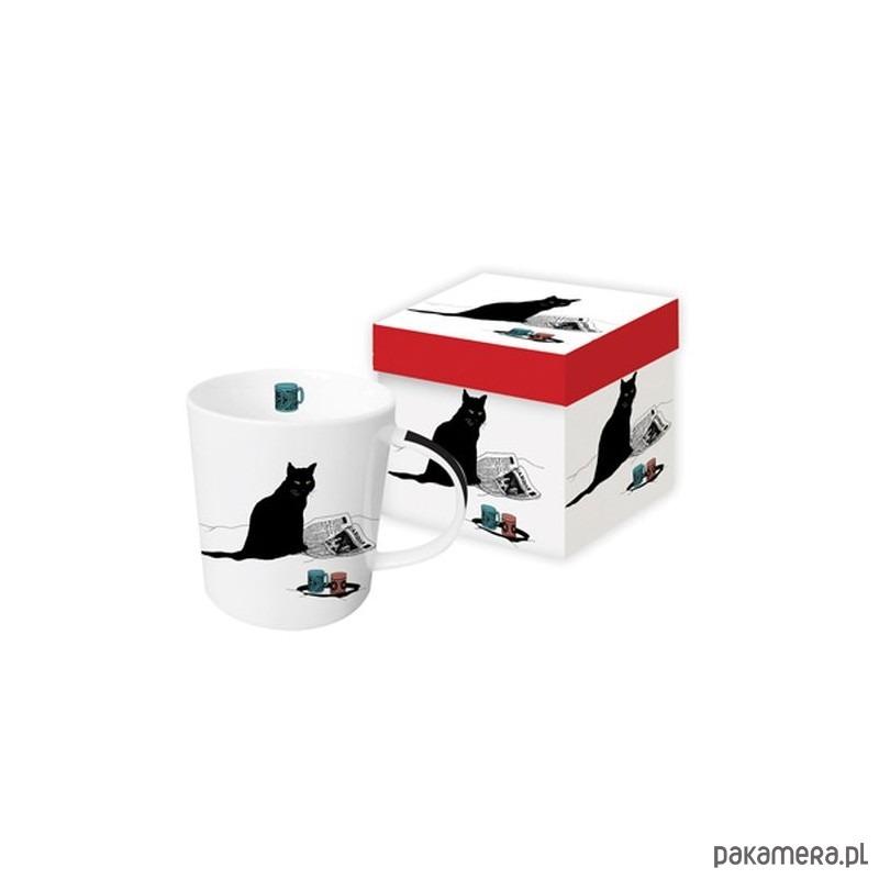 Kubek Porcelanowy Z Siedzącym Z Kotem Kuchnia Kubki Pakamerapl