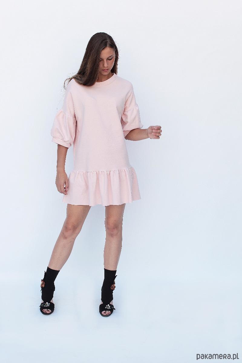 Sukienka dresowa BLANCA Powder Pink