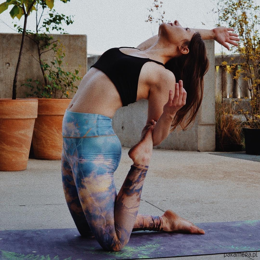 Goddess Spirit legginsy sportowe z recyklingu