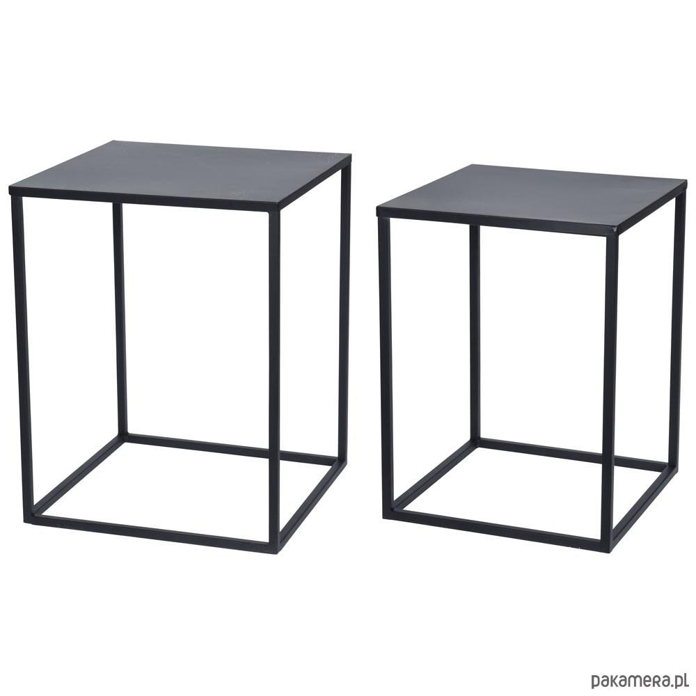Ogromny Stoliki Metalowe 2 sztuki - meble - stoły i stoliki - stoliki EF31