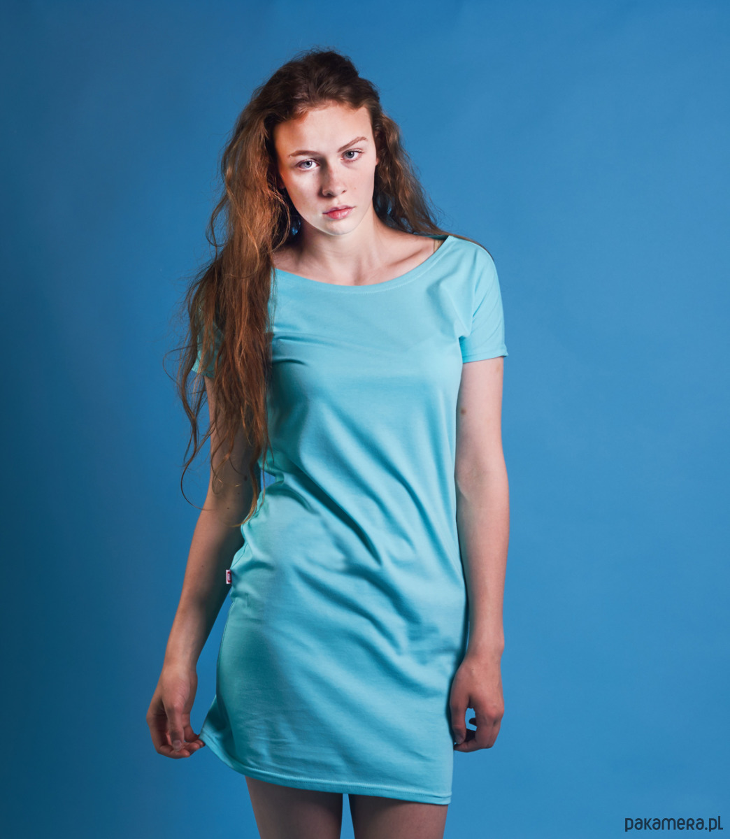 Sukienka KIMONOWA Mięta