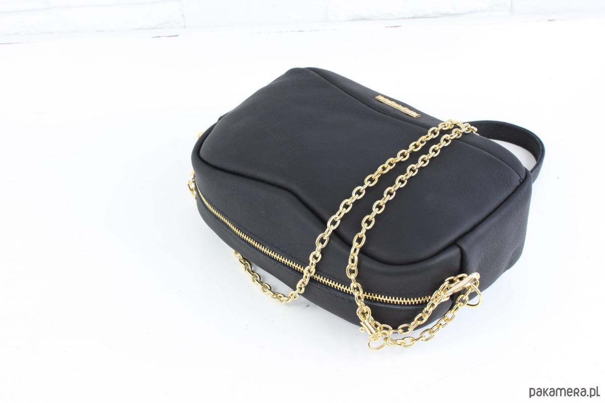 e4f9ada10b1e6 Skórzana Fabulous  9 black classic GOLD - torby na ramię - damskie ...