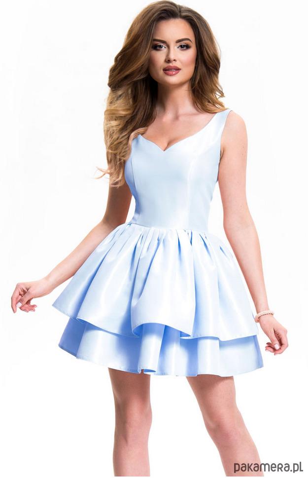 Sukienka balerina niebieska