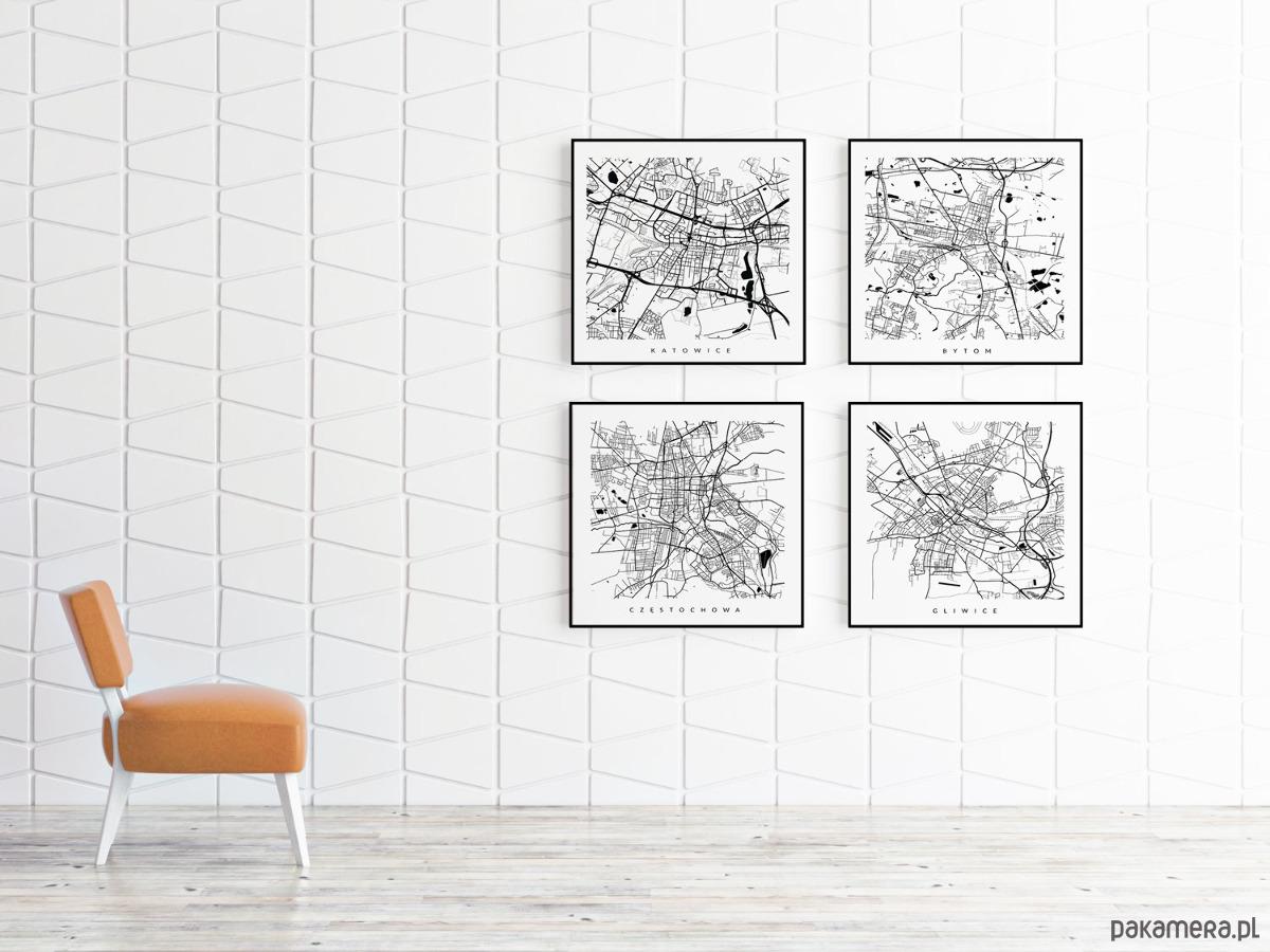 śląsk Zestaw 4 Map Galeria Pakamerapl