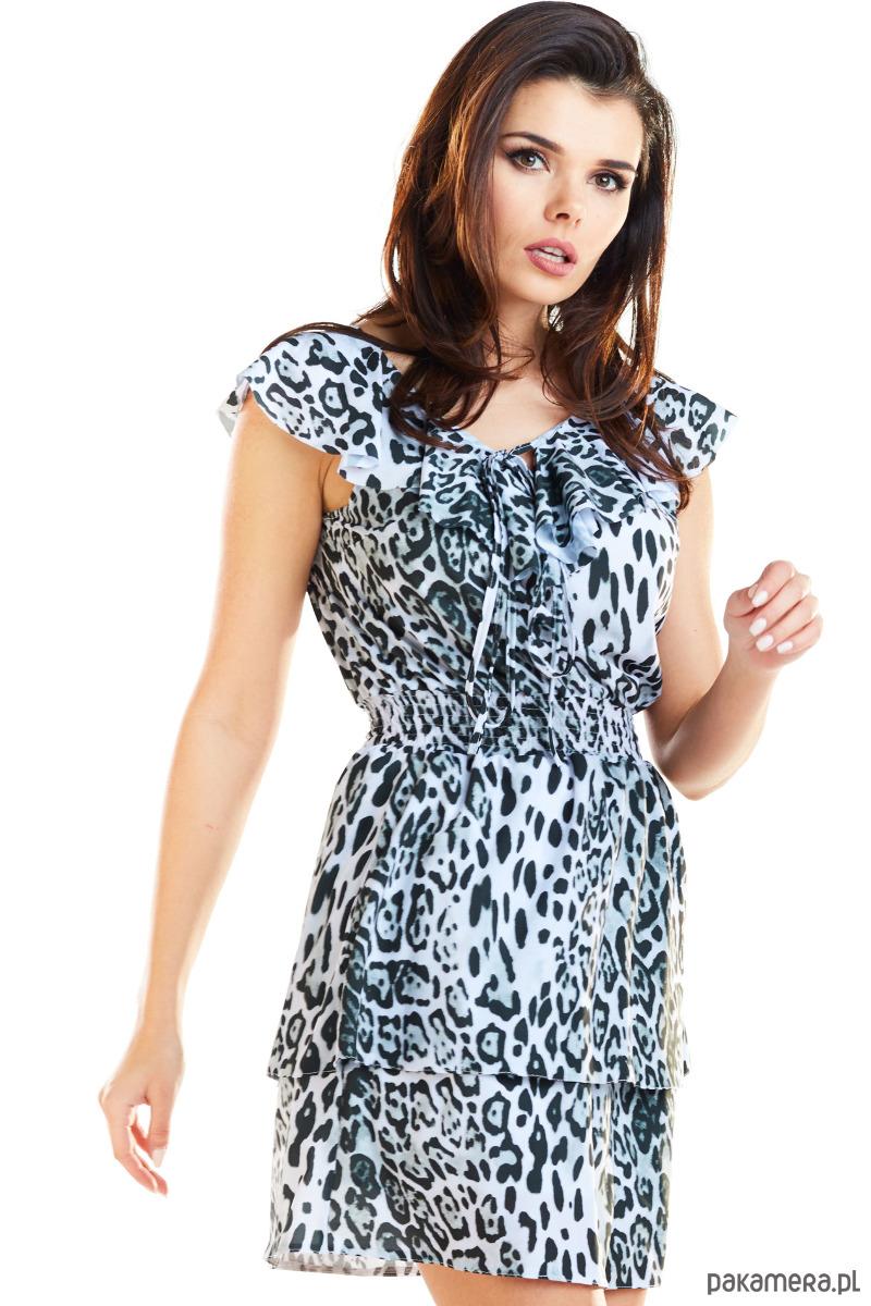 85e782898e Sukienka mini B272 - sukienki - mini - Pakamera.pl