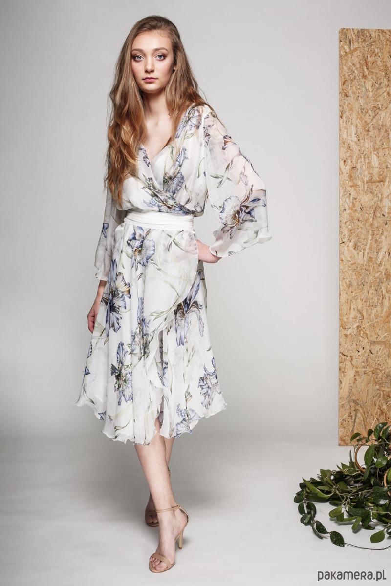 Jedwabna Sukienka IRIS by Silkki Way