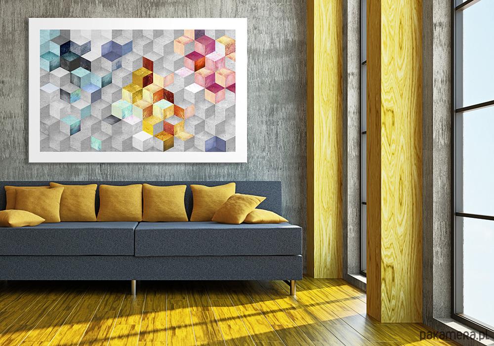 Obraz Na Płótnie 120x80cm Abstrakcja Pakamerapl